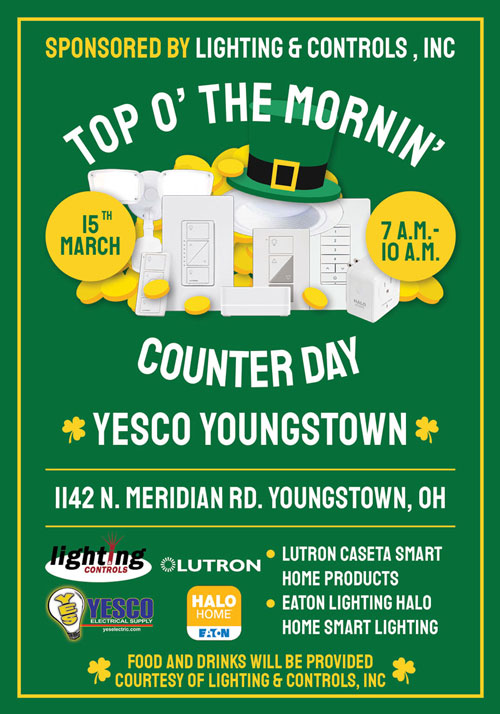 YESCO Youngstown - St. Pat's Smart Home Counter Day