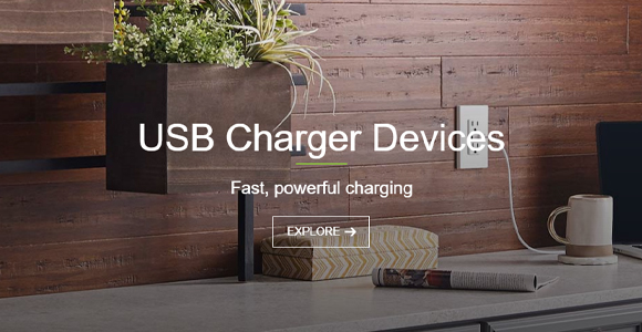 Leviton USB Charger Outlets